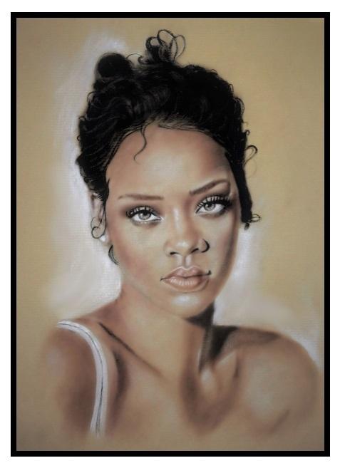 Rihanna by burdge12